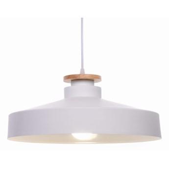 Nowoczesna lampa wisząca biała ludor, Lumina Deco