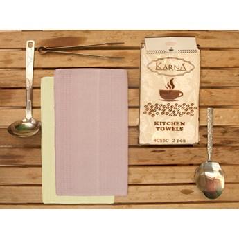 Bilge Ręcznik bawełniany waffle MEDLEY/2806/lilac/ 2x40x60 kpl.
