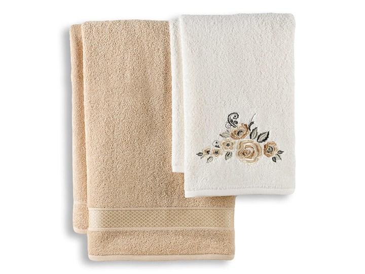 Bilge Ręcznik bawełniany frotte ELVIN/3310/beige 50x90+70x140 kpl.