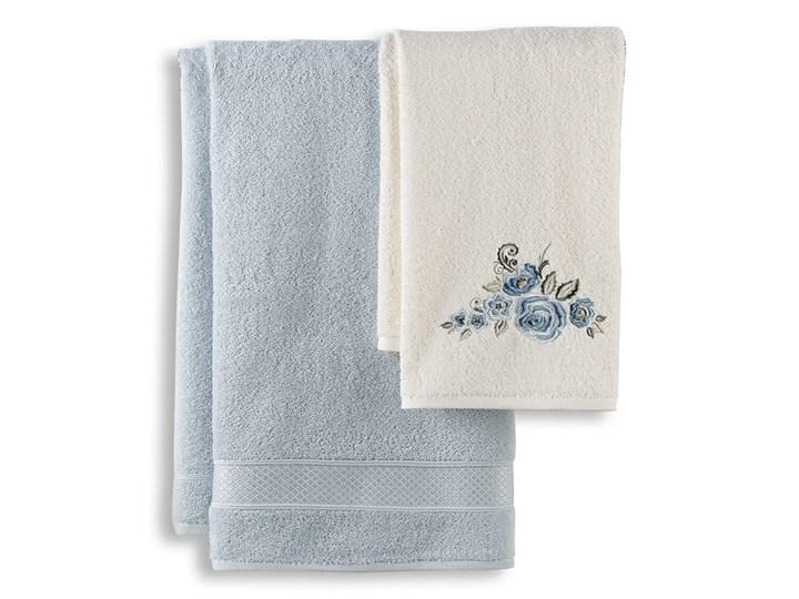 Bilge Ręcznik bawełniany frotte ELVIN/3310/light blue 50x90+70x140 kpl. Bawełna 70x140 cm 50x90 cm Komplet ręczników Kolor Ręcznik kąpielowy Kategoria Ręczniki