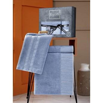 Bilge Ręcznik bawełniany frotte MORANO/3470/blue 50x90+70x140 kpl.
