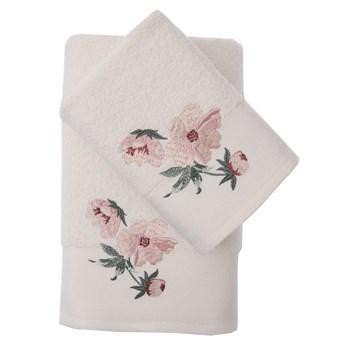 Bilge Ręcznik bawełniany frotte VALDI/3457/cream 50x90+70x140 kpl.
