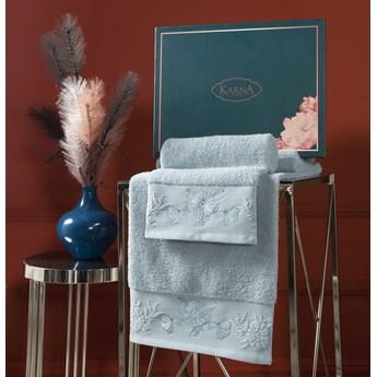 Bilge Ręcznik bawełniany frotte MIRA/3452/green 50x90+70x140 kpl.