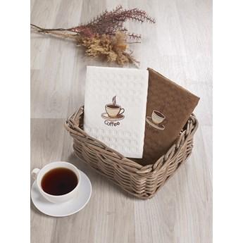 Bilge Ręcznik bawełniany waffle haft SALVA/3477/V1/ 2x45x65 kpl.