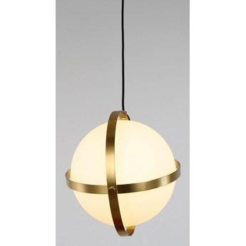 Nowoczesna lampa wisząca biała signia d30, Lumina Deco