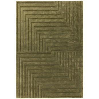 Dywan wełniany 120x170 cm Form Green