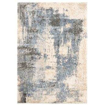 Dywan Shaggy Abstrakcyjny Kremowy Niebieski Versay 57610 200 x 300 cm