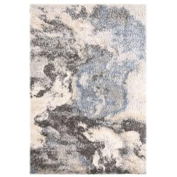Dywan Shaggy Abstrakcyjny Szary Beżowy Versay 57653 80 x 150 cm