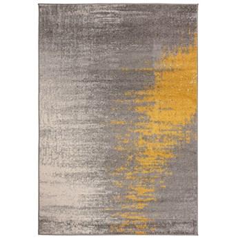 Dywan Nowoczesny Szary Złoty Spring 57175 120 x 170 cm