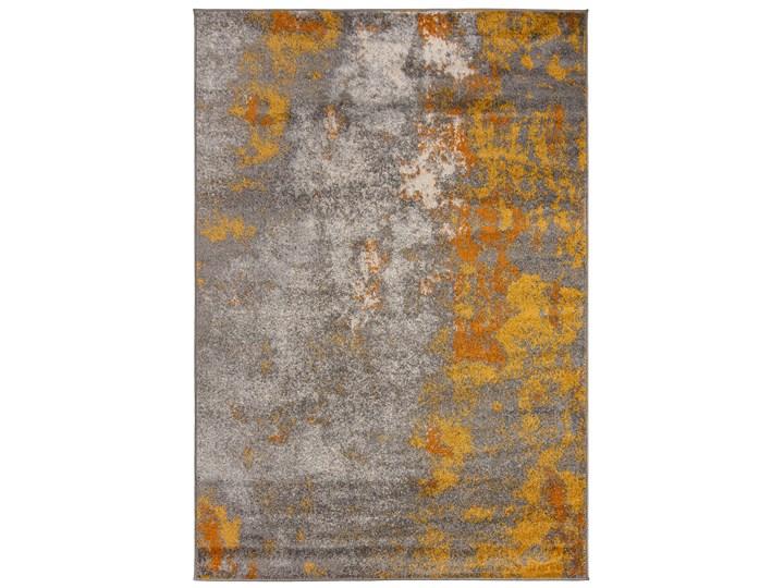 Dywan Nowoczesny Abstrakcyjny Szary Złoty Spring 57299 60 x 200 cm 60x200 cm Dywany Kategoria Dywany