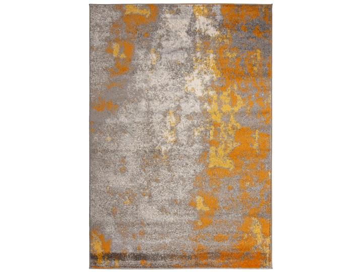 Dywan Nowoczesny Abstrakcyjny Szary Złoty Spring 57323 200 x 300 cm