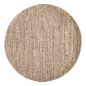 Dywan Okrągły Jednokolorowy Beżowy Sari 61068 150 x 150 cm