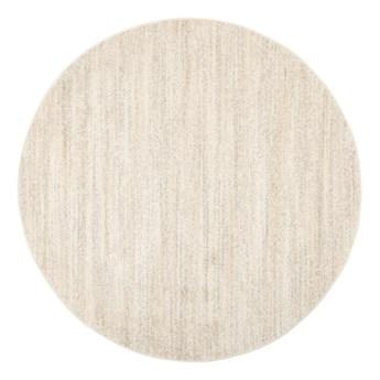 Dywan Okrągły Jednokolorowy Kremowy Sari 61094 100 x 100 cm