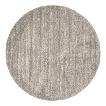 Dywan Okrągły Jednokolorowy Szary Sari 61084 150 x 150 cm