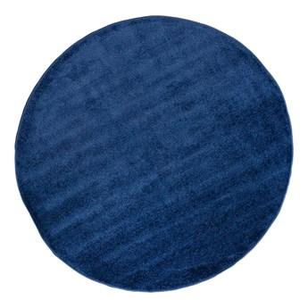 Dywan Okrągły Jednokolorowy Granatowy Spring 60941 160 x 160 cm