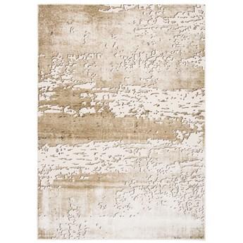 Dywan Abstrakcyjny Beżowy Złoty Glamour Tango 61554 180 x 260 cm