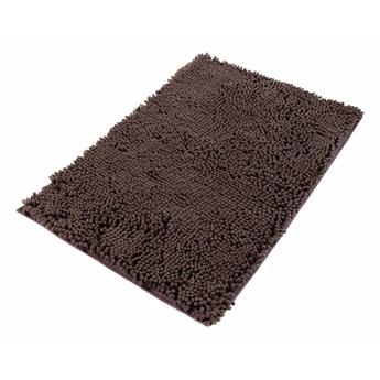 Dywanik Łazienkowy Mikrofibra Brązowy CHENILLE 62450 70 x 150 cm