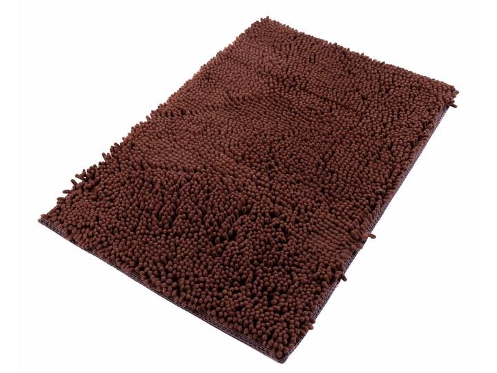 Dywanik Łazienkowy Mikrofibra Brązowy CHENILLE 62451 70 x 150 cm 70x150 cm Kategoria Dywaniki łazienkowe