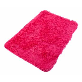 Dywanik Łazienkowy Poliester Różowy Silk 62474 70 x 150 cm