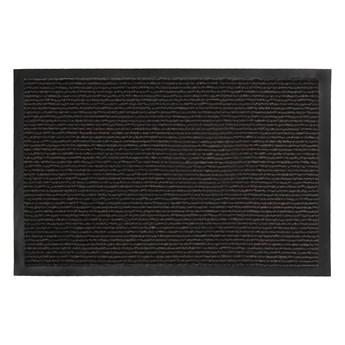 Wycieraczka Pod Drzwi Wejściowa 7 mm Antypoślizgowa Czarna Horizon 61889 40 x 60 cm