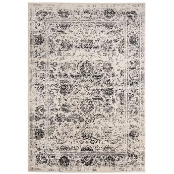 Dywan Orientalny Vintage Szary z Białym ALESTA 65047 70 x 200 cm