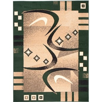 Dywan Nowoczesny Abstrakcyjny Zielony 30091 100 x 150 cm