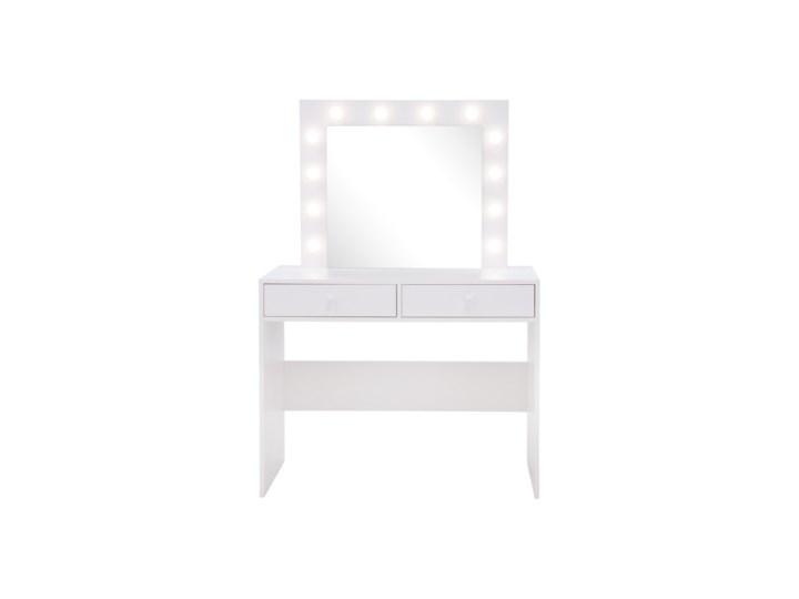 Salony Agata  Toaletka z lustrem INSTA, z oświetleniem Bez lustra Kategoria Toaletki Kolor Biały