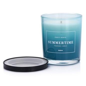Świeca zapachowa sojowa w szkle Frosty Nights DUKA SUMMERTIME 300 g