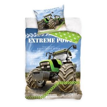 Pościel bawełniana 160x200 Maszyny Traktor, Carbotex