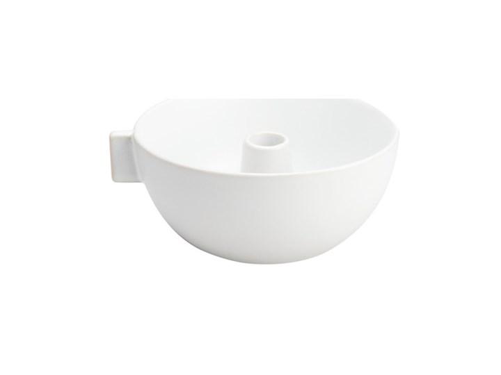 ERNST - Biały kamionkowy świecznik L
