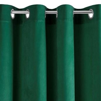 Zasłona Pierre 140x250cm - Zielony - Przelotki