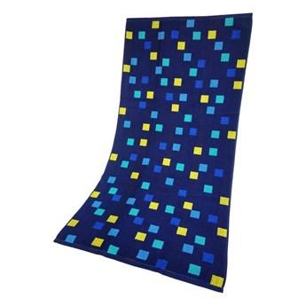 Ręcznik Plażowy Geo Niebieski 70x140 Greno