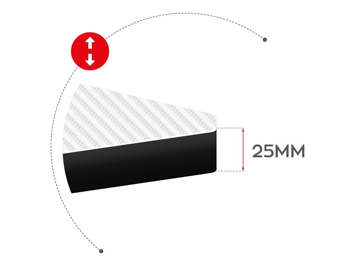 Biurko Gamingowe Huzaro Hero 5.0 White Głębokość 60 cm Pomieszczenie Pokój nastolatka Stal Aluminium Szerokość 120 cm Biurko z nadstawką Kategoria Biurka