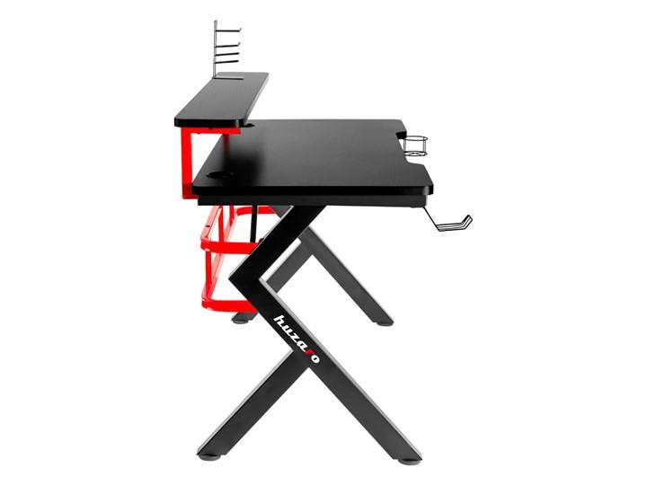 Biurko Gamingowe Huzaro Hero 5.0 Red Aluminium Biurko z nadstawką Głębokość 60 cm Stal Szerokość 120 cm Kategoria Biurka