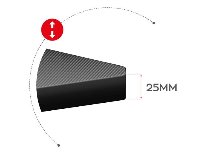 Biurko Gamingowe Huzaro Hero 5.0 Red Aluminium Szerokość 120 cm Głębokość 60 cm Biurko z nadstawką Stal Pomieszczenie Pokój nastolatka