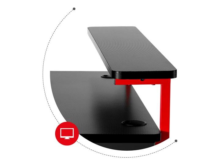 Biurko Gamingowe Huzaro Hero 5.0 Red Kategoria Biurka Biurko z nadstawką Aluminium Szerokość 120 cm Głębokość 60 cm Stal Pomieszczenie Pokój nastolatka