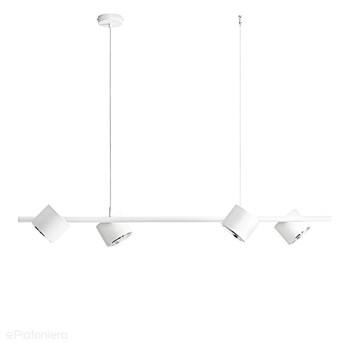 Biała lampa - spot sufitowa, wisząca (regulowana, ustawna 4xAR111) Aldex (Bot)1046L