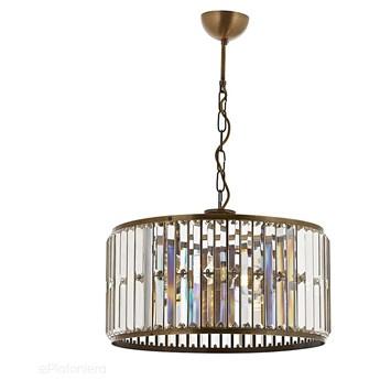 Nowoczesna lampa wisząca - patynowy szklany żyrandol 3xE27, Avonni AV-1667-3E
