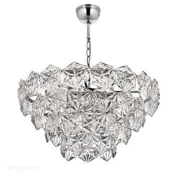 Klasyczny kryształowy żyrandol, szklana lampa wisząca (chrom) 13xE27, Avonni AV-1690-K60