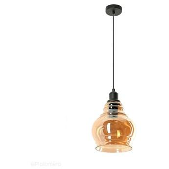 Wiszący miodowy klosz (1x E27) lampa do salonu kuchni sypialni, Lampex (Neko) 790/1