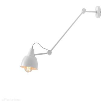 Regulowana lampa ścienna, (1 ramię) biała 1xE27, Aldex (Aida) 814PL/G