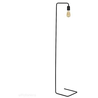 Czarna metalowa lampa stojąca - podłogowa 1xE27, Aldex (eko black) 857A1
