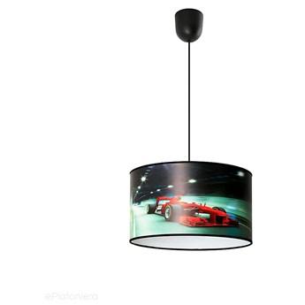 Abażur PCV 35cm, lampa wisząca do pokoju dziecka (1x E27) Lampex (Race) 923/1