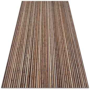 Modny winylowy dywan Bambusowa mata