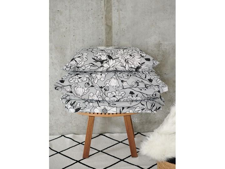 Sinsay - Bawełniany komplet pościeli 160x200 - Szary 160x200 cm Bawełna Kategoria Komplety pościeli
