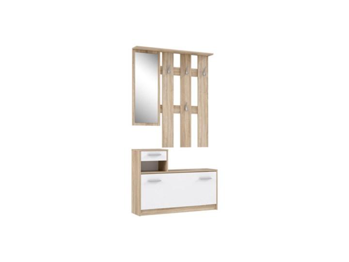 Salony Agata  Garderoba HALLWAYS Pomieszczenie Przedpokój Kolor Biały