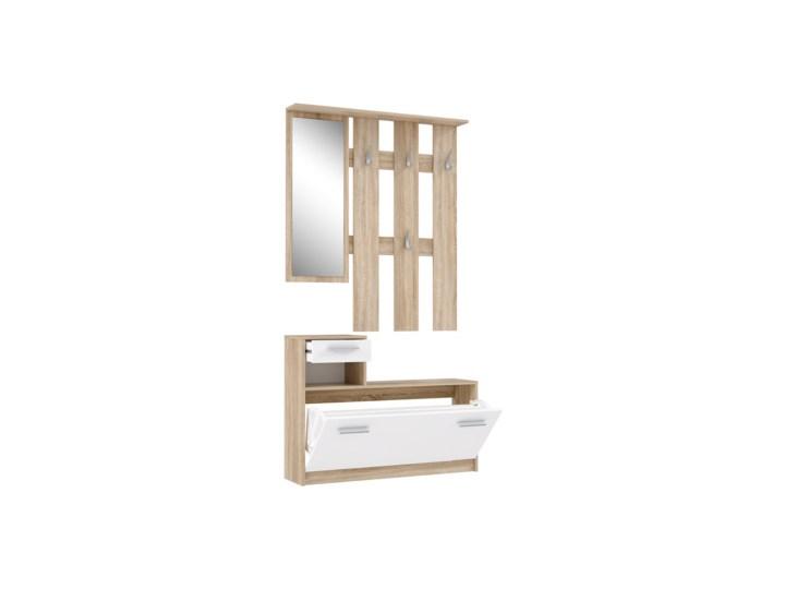 Salony Agata  Garderoba HALLWAYS Kolor Biały Kategoria Zestawy mebli do sypialni