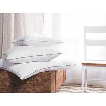 Poduszka bawełniana biała wypełnienie do poszewki 80 x 80 cm kwadratowa