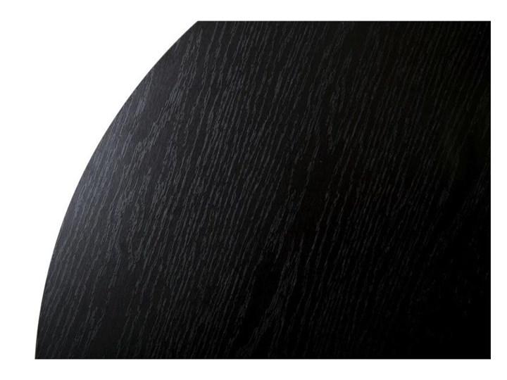 Stolik kawowy Diamond 70 cm czarny Stal Metal Płyta MDF Wysokość 40 cm Kategoria Stoliki i ławy