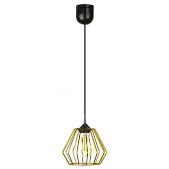 Lampa wisząca WarsawLoft 13 cm złota